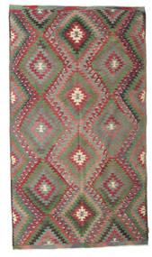 Kelim Semiantiikki Turkki Matto 171X300 Itämainen Käsinkudottu Vaaleanruskea/Tummanharmaa (Villa, Turkki)