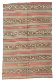 Kilim Semi Antique Turkish Rug 173X260 Authentic  Oriental Handwoven Light Brown/Brown (Wool, Turkey)
