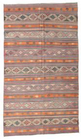Kelim Semiantiikki Turkki Matto 187X321 Itämainen Käsinkudottu Vaaleanruskea/Vaaleanpunainen (Villa, Turkki)