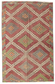 Kilim Semi Antique Turkish Rug 181X280 Authentic  Oriental Handwoven Brown/Light Brown (Wool, Turkey)