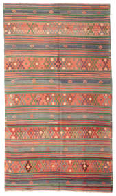 Kilim semi antique Turkish carpet XCGZK999