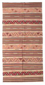 Kilim Semi Antique Turkish Rug 164X317 Authentic Oriental Handwoven Light Brown/Dark Beige (Wool, Turkey)