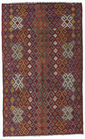 Kilim Félantik Törökország Szőnyeg 182X300 Keleti Kézi Szövésű Sötétpiros/Sötétszürke (Gyapjú, Törökország)
