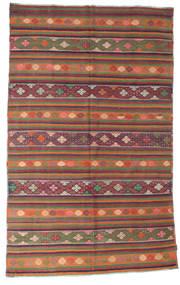 Kilim Pół -Antyk Tureckie Dywan 200X320 Orientalny Tkany Ręcznie Ciemnoczerwony/Czerwony (Wełna, Turcja)