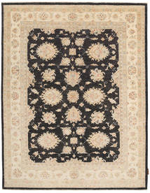 Ziegler Rug 153X202 Authentic  Oriental Handknotted Beige/Dark Grey (Wool, Pakistan)