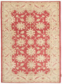 Ziegler Rug 151X209 Authentic  Oriental Handknotted Beige/Light Pink (Wool, Pakistan)