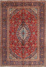 Keshan Rug 240X350 Authentic  Oriental Handknotted Brown/Dark Purple (Wool, Persia/Iran)
