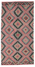 Kilim semi antique Turkish rug XCGZK968