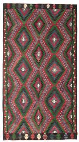 Kilim Pół -Antyk Tureckie Dywan 180X332 Orientalny Tkany Ręcznie Ciemnoszary/Czerwony (Wełna, Turcja)
