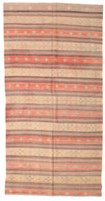 Kilim semi antique Turkish rug XCGZK948