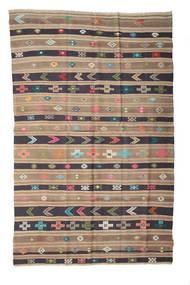 Kilim Semi-Antique Turquie Tapis 158X248 D'orient Tissé À La Main Marron Clair/Violet (Laine, Turquie)