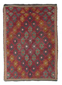 Tapis Kilim semi-antique Turquie XCGZK930
