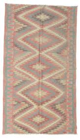 Kilim Semi-Antigo Turquia Tapete 171X300 Oriental Tecidos À Mão Castanho Claro/Luz Rosa (Lã, Turquia)