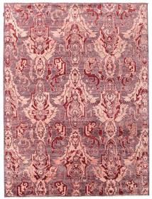 Himalaya Covor 236X315 Modern Lucrat Manual Roz Deschis/Violet Deschis ( India)