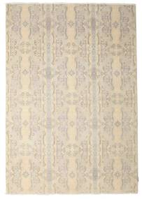 Himalaya Rug 193X278 Authentic  Modern Handknotted Beige/Light Grey (Wool, India)