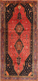 Koliai Matto 145X317 Itämainen Käsinsolmittu Tummanruskea/Oranssi (Villa, Persia/Iran)