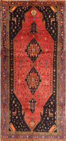 Koliai Χαλι 145X317 Ανατολής Χειροποιητο Σκούρο Καφέ/Πορτοκαλί (Μαλλί, Περσικά/Ιρανικά)