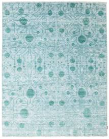 Himalaya Rug 241X310 Authentic  Modern Handknotted Light Blue/Turquoise Blue ( India)