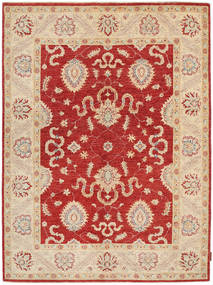 Ziegler Rug 147X200 Authentic  Oriental Handknotted Rust Red/Beige (Wool, Pakistan)