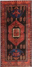 Koliai Vloerkleed 135X290 Echt Oosters Handgeknoopt Donkerrood/Zwart (Wol, Perzië/Iran)