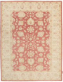 Ziegler Rug 166X220 Authentic  Oriental Handknotted Beige/Light Brown (Wool, Pakistan)