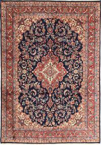 Hamadan Shahrbaf Matto 210X302 Itämainen Käsinsolmittu Tummanvioletti/Tummanharmaa (Villa, Persia/Iran)