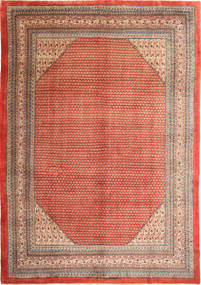 Sarouk Mir Rug 272X382 Authentic  Oriental Handknotted Light Brown/Brown Large (Wool, Persia/Iran)