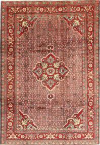 Zanjan Koberec 210X300 Orientální Ručně Tkaný Tmavě Červená/Hnědá (Vlna, Persie/Írán)