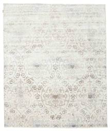 Himalaya Rug 242X293 Authentic  Modern Handknotted Beige/Light Grey (Wool/Bamboo Silk, India)