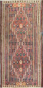 Kilim Fars Szőnyeg 153X320 Keleti Kézi Szövésű Narancssárga/Barna (Gyapjú, Perzsia/Irán)