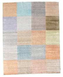 Himalaya 絨毯 238X302 モダン 手織り 薄い灰色/薄茶色/ライトピンク (ウール/バンブーシルク, インド)