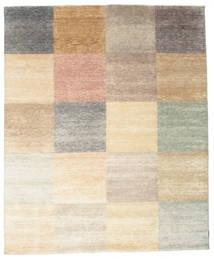 Himalaya Rug 245X297 Authentic  Modern Handknotted Beige/Light Grey (Wool/Bamboo Silk, India)