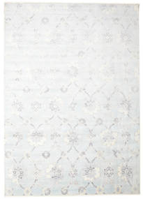 Himalaya Rug 307X434 Authentic  Modern Handknotted White/Creme/Beige Large (Wool/Bamboo Silk, India)