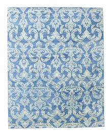 Himalaya Rug 232X293 Authentic  Modern Handknotted Light Blue/Blue ( India)