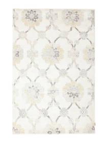 Himalaya Teppich  165X250 Echter Moderner Handgeknüpfter Beige/Weiß/Creme ( Indien)