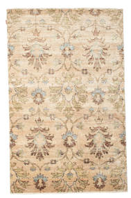 Himalaya Rug 187X273 Authentic  Modern Handknotted Beige/Dark Beige ( India)