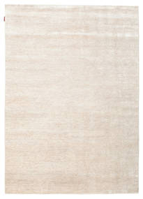 Himalaya Rug 187X261 Authentic  Modern Handknotted Beige/Light Grey ( India)
