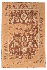 Himalaya Rug 183X272 Authentic  Modern Handknotted Light Brown/Dark Beige (Wool, India)