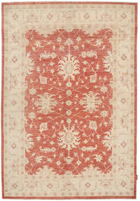 Ziegler Rug 170X248 Authentic  Oriental Handknotted Light Brown/Light Pink (Wool, Pakistan)