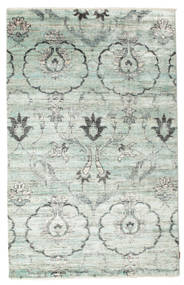 Himalaya Rug 159X248 Authentic  Modern Handknotted Light Grey/Beige ( India)