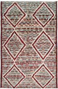 Barchi/Moroccan Berber Tappeto 193X300 Moderno Fatto A Mano Grigio Chiaro/Marrone Chiaro (Lana, Afghanistan)