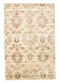 Himalaya Rug 173X262 Authentic  Modern Handknotted Beige/Light Brown (Wool/Bamboo Silk, India)