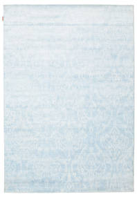 Himalaya Rug 182X259 Authentic  Modern Handknotted Light Grey/Light Blue/Beige ( India)
