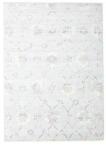 Himalaya Matto 240X308 Moderni Käsinsolmittu Vaaleanharmaa/Beige/Valkoinen/Creme ( Intia)