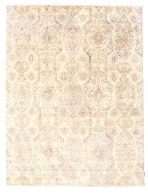 Himalaya Rug 230X304 Authentic  Modern Handknotted Beige/Light Pink (Wool/Bamboo Silk, India)