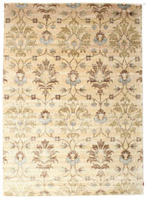 Himalaya Rug 263X361 Authentic  Modern Handknotted Beige/Light Brown/Dark Beige Large (Wool/Bamboo Silk, India)