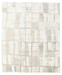 Himalaya Rug 244X297 Authentic  Modern Handknotted Beige/Dark Beige/Light Grey ( India)