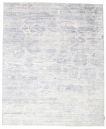 Himalaya Rug 246X297 Authentic  Modern Handknotted Light Purple/White/Creme/Beige ( India)