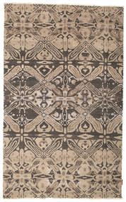 Himalaya Rug 144X233 Authentic  Modern Handknotted Light Brown/Dark Brown (Wool, India)