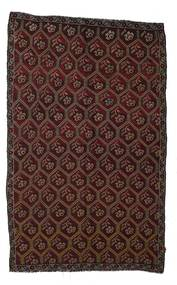 Kilim Semi Antique Turkish Rug 180X290 Authentic  Oriental Handwoven Dark Brown/Dark Red (Wool, Turkey)
